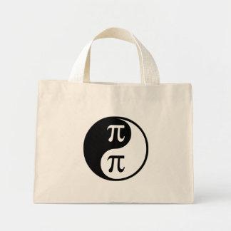 Matemáticas de Yin Yang Bolsa De Mano