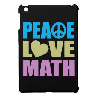 Matemáticas del amor de la paz iPad mini coberturas