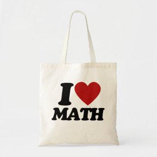 Matemáticas del corazón I Bolsa Tela Barata
