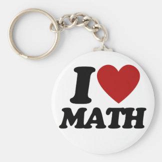 Matemáticas del corazón I Llavero