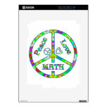 Matemáticas del signo de la paz skins para iPad 2