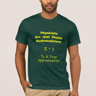 Matemáticas descuidada playera