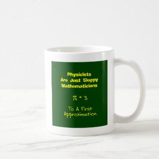 Matemáticas descuidada tazas de café