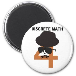 Matemáticas discreta iman para frigorífico