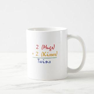 Matemáticas gemela taza