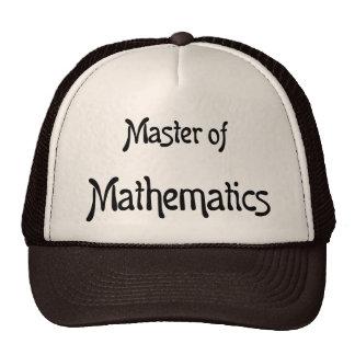 Matemáticas Gorros Bordados