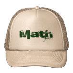 Matemáticas Gorra