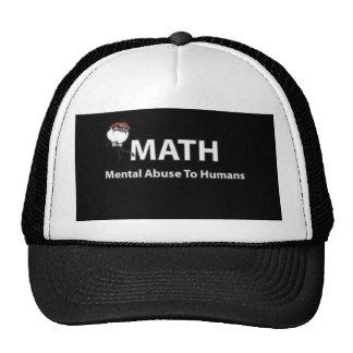 matemáticas gorro