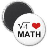 Matemáticas I <3 Imán De Nevera