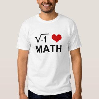 Matemáticas I <3 Remera