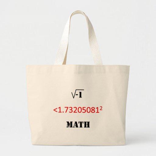 matemáticas i menos de 3 bolsa