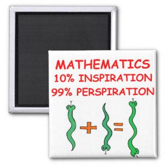 matemáticas imán de frigorífico