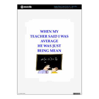 MATEMÁTICAS iPad 3 PEGATINA SKIN