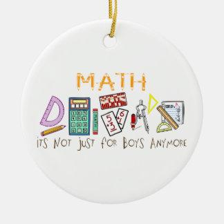 Matemáticas No está apenas para los muchachos má Adornos