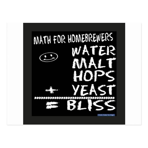 Matemáticas para Homebrewers Postales