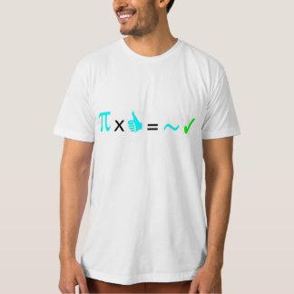 Matemáticas pi vez caben ya dedos pulgar caballero camisas