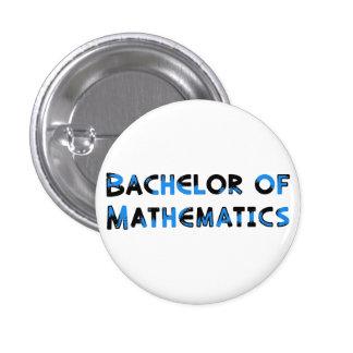 Matemáticas Pin Redondo De 1 Pulgada