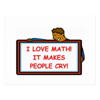 matemáticas postal