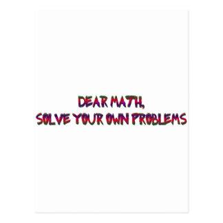 matemáticas postales