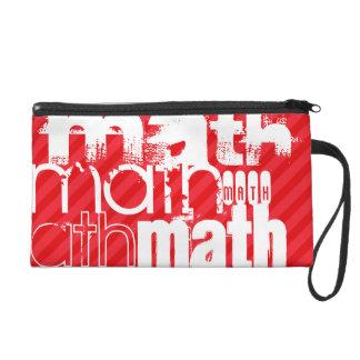 Matemáticas; Rayas del rojo del escarlata