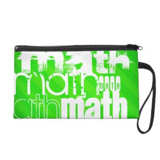 Matemáticas; Rayas verdes de neón