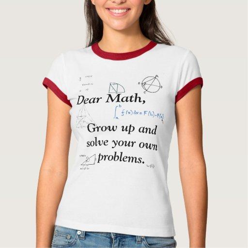 Matemáticas Remera
