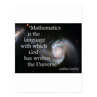 Matemáticas Tarjetas Postales