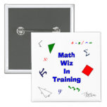 Matemáticas Wiz en el entrenamiento Pin