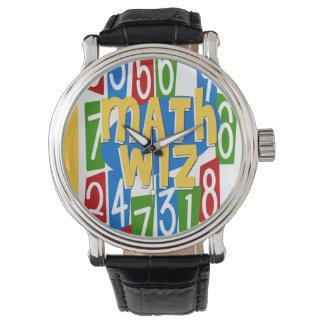 Matemáticas Wiz Reloj