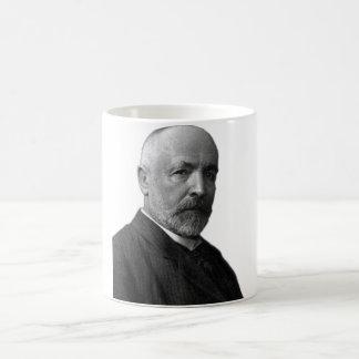 Matemático alemán Georg Cantor Taza Clásica