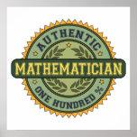 Matemático auténtico posters