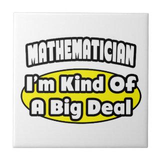 Matemático = clase de una gran cosa azulejo