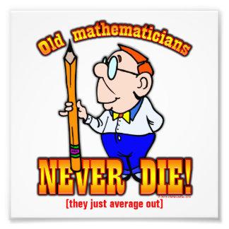 Matemáticos Impresiones Fotográficas