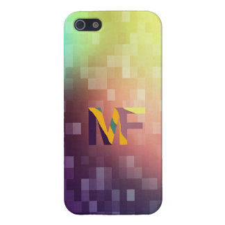 MateoFigs - Colored Pixel Art iPhone 5 Case For iPhone SE/5/5s