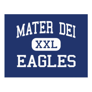 Mater Dei - Eagles - High - Middletown New Jersey Postcard