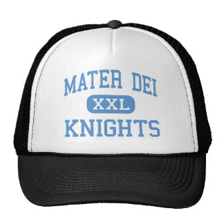 Mater Dei - Knights - High - Breese Illinois Trucker Hat