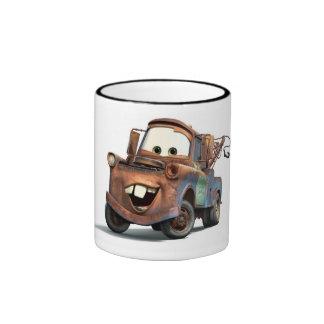 Mater Disney de los coches Taza A Dos Colores