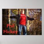 Materia 012, Phil Hickey del estudio, llevado para Posters