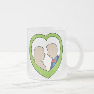 Materia 13 del boda tazas de café