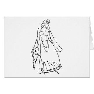 Materia 22 del boda tarjeta