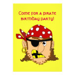 Materia adaptable del pirata del hombre del pirata