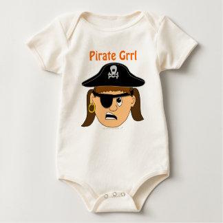 Materia adaptable linda del pirata del niño del mamelucos