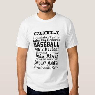 Materia de Cincinnati Playera
