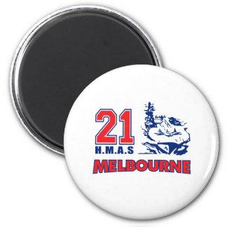 Materia de HMAS Melbourne Iman De Nevera
