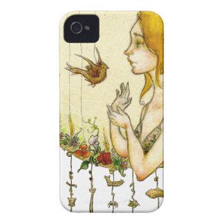Materia de Juana Newsom Dreamcatcher iPhone 4 Case-Mate Cárcasa