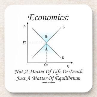 Materia de la economía no del equilibrio de la posavasos