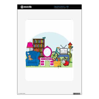 Materia de la venta de garaje calcomanía para el iPad