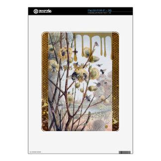 Materia de las abejas iPad calcomanía