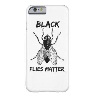 Materia de las moscas negras funda barely there iPhone 6