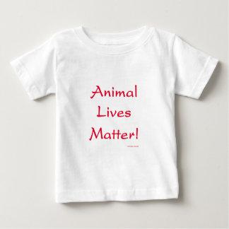 ¡Materia de las vidas animales! Playeras
